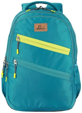LAVIE Grey Polyester Backpack