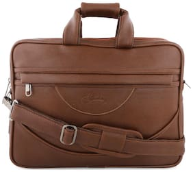 Leather World Waterproof [ Up to 15 inch Laptop]