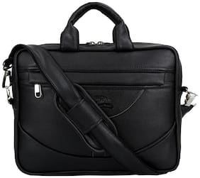 Leather World Laptop messenger bag [ Up to 12 inch Laptop]