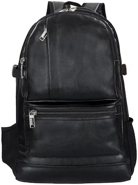 Leather World Waterproof Laptop Backpack