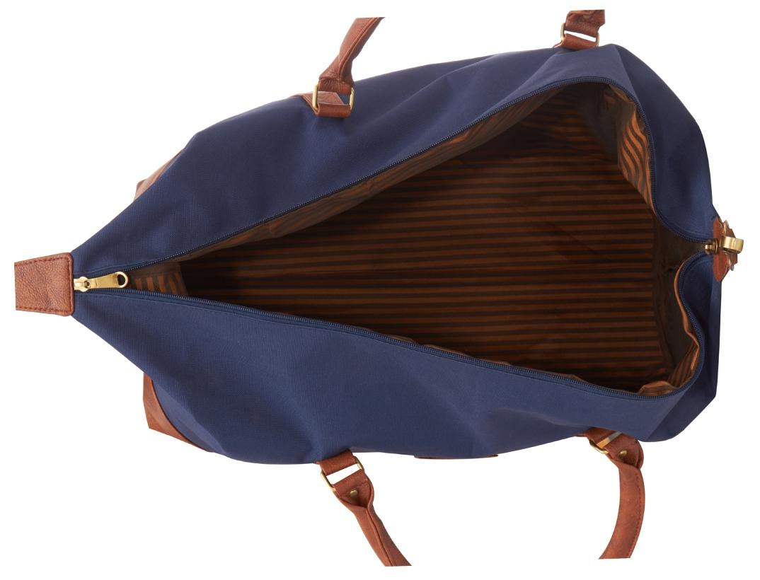 15ade2c606c Buy Leather World Canvas Men Duffle Bag - Blue Online at Low Prices in  India - Paytmmall.com