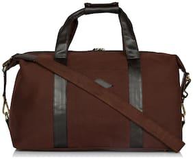 Leather Zentrum Browm Leather Duffles & Gym Bags