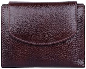 Leatherstile Women Leather Wallet - Brown
