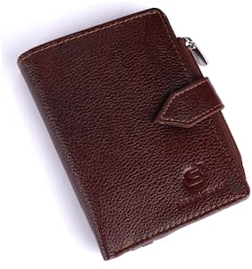 Leatherstile Women Brown Leather Wallet