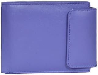 Leatherstile Women Leather Wallet - Purple