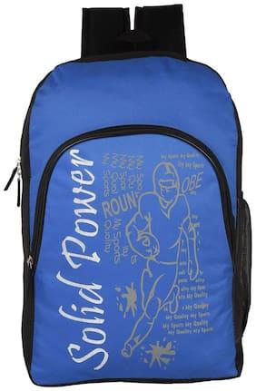 LeeRooy Blue Canvas Backpack