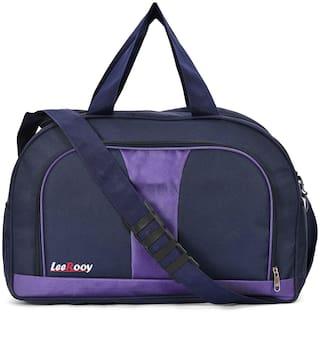 19d08ed55a4a Buy Leerooy TRAVEL & DUFFEL BAG 50 L (NAVY BLUE ) Travel Duffel Bag ...