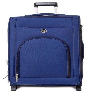 Leisure Luggage Metro 55cm Blue Trolley Strolley Wheel Bag Suitcase