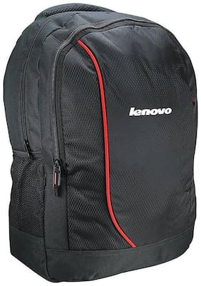 Lenovo 20 ltr Black & Multi Pu Laptop backpack