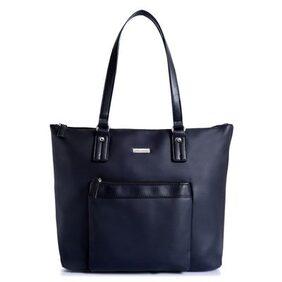 Lino Perros Women Synthetic Handheld Bag - Black