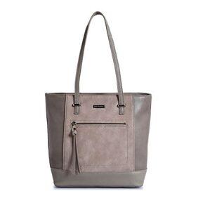Lino Perros Women Synthetic Handheld Bag - Grey