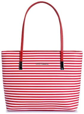 Lino Perros Synthetic Women Handheld bag - Red