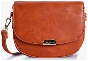 Lino Peros Tan Sling bag