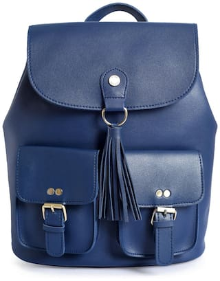 Lino Perros Blue Coloured Backpack