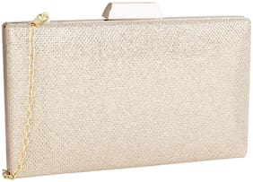 Lino Perros Golden Coloured Clutch