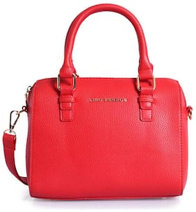 Lino Perros Leather Women Handheld bag - Red