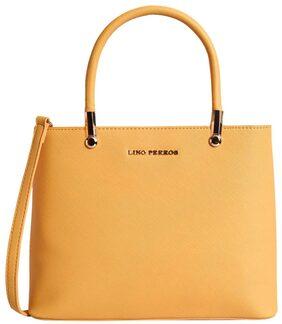 Lino Perros Yellow Coloured Handbag