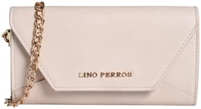 Lino Perros White Coloured Clutch