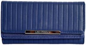 Lino Perros Navy Womens Wallet
