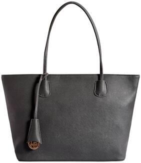 Lino Perros Women Faux Leather Shoulder Bag - Grey