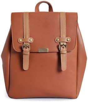Lino Perros Tan Coloured Backpack
