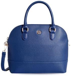 Lino Perros Leather Women Handheld bag - Blue
