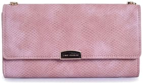 Lino Perros Pink Sling bag