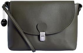 Lino Perros Green Coloured Sling bag