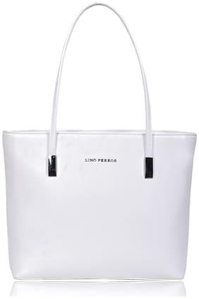 Lino Perros White Coloured Handbag