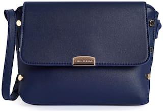 Lino Perros Womens Blue Sling bag