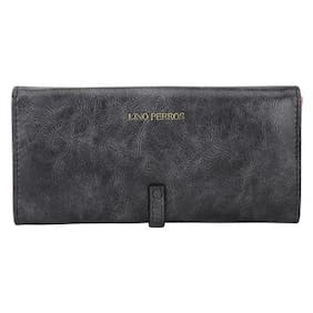 Lino Perros Grey Womens Wallets