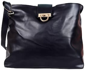 Lino Perros Black Shoulder Bag