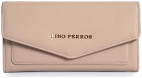 Lino Perros Beige Coloured Wallet