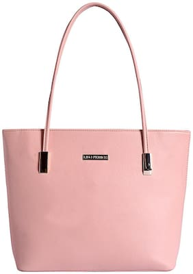 Lino Perros Pink Coloured Handbag