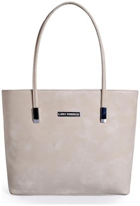 Lino Perros Beige Coloured Handbag