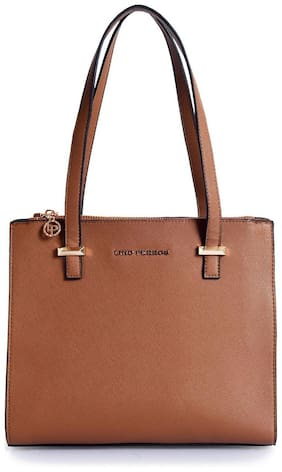 Lino Perros Brown Hand bag