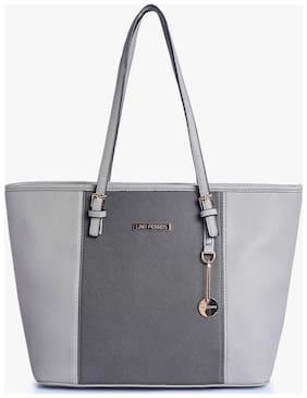 Lino Perros Grey Hand bag