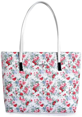 Lino Perros Women Solid Faux Leather - Tote Bag Multi