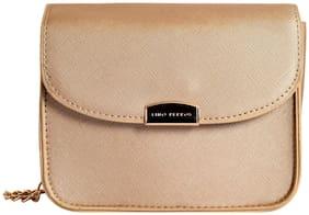 Lino Perros Womens Golden Sling bag