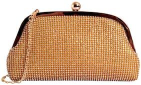 Lino Perros Golden Womens Clutch