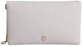 Lino Perros Womens White Sling bag