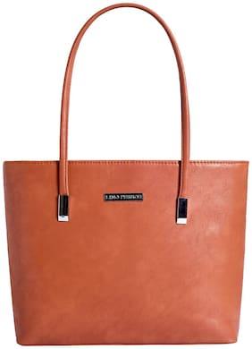 Lino Perros Womens Tan Handbag