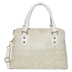 Lino Perros White Womens Hand Bag
