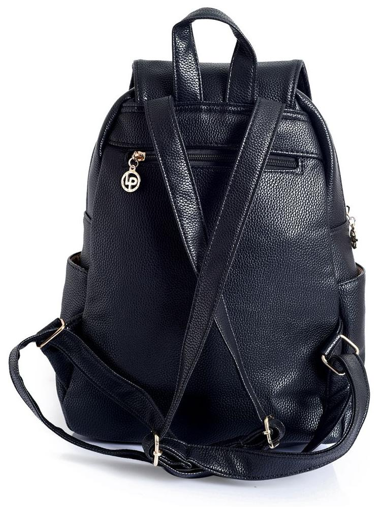 c6cd946d5 Buy Lino Perros Black Backpack Online at Low Prices in India - Paytmmall.com