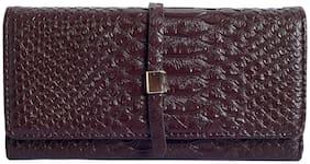 Lino Perros Brown Womens Wallet