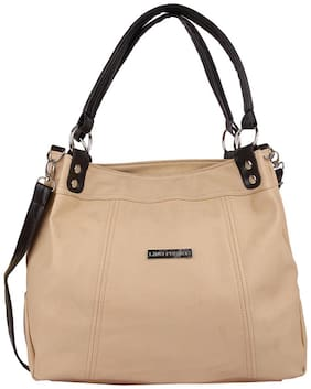 Lino Perros Beige Hand Bag
