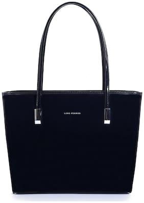 Lino Perros Black Coloured Tote Bag