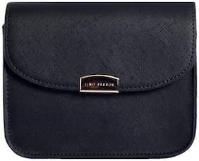Lino Perros Womens Black Sling bag
