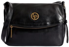 Lino Perros Black Coloured Sling bag