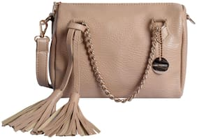 Lino Perros Beige Coloured Satchel Bag